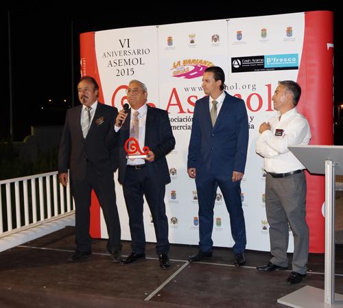 OMARE, galardonada con el premio ASEMOL 2015 al mejor empresario
